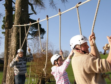 Low Ropes Obstacle Course Team Building Activities And Corporate
